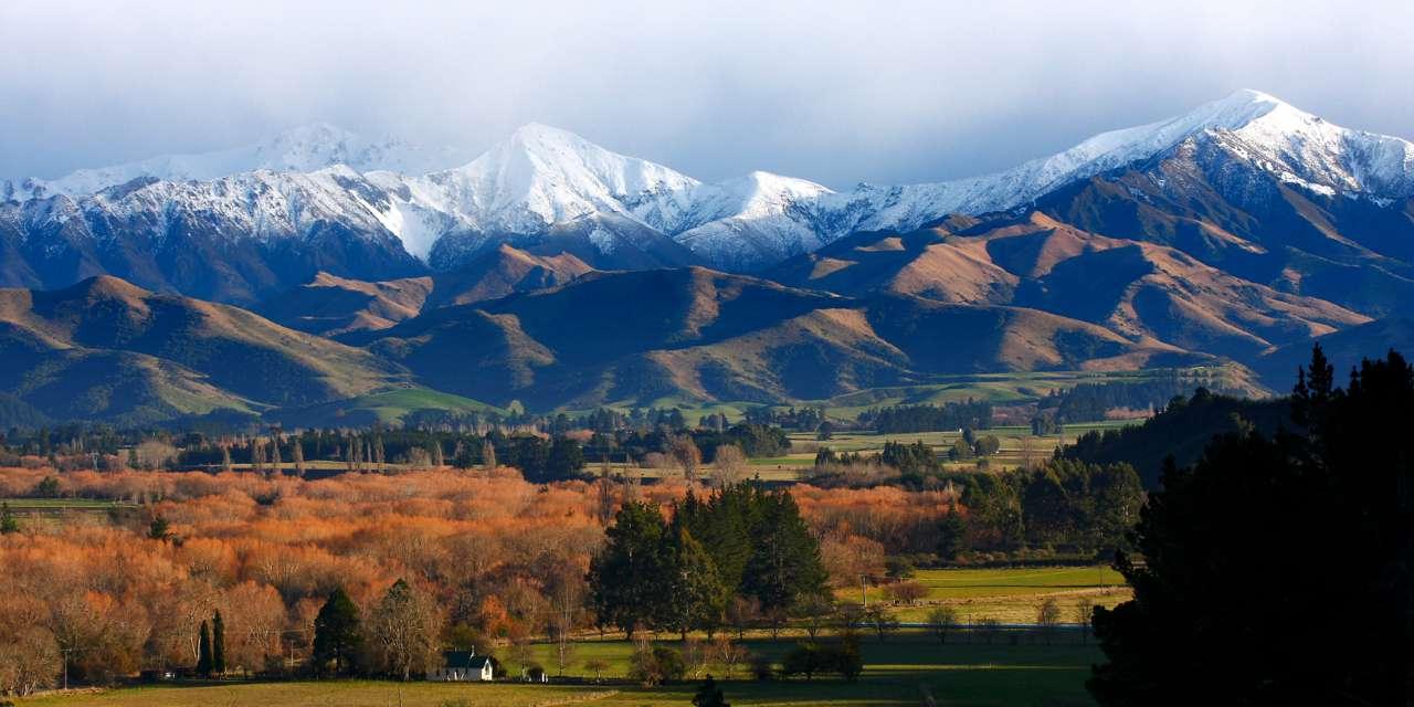 Snow on the  Four Peaks, Geraldine