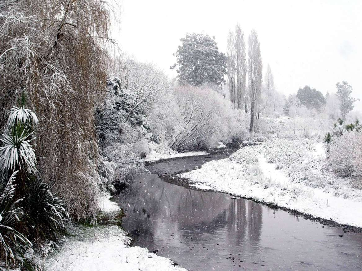 Geraldine in Winter