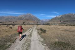 Te Araroa Trail towards Bush Stream