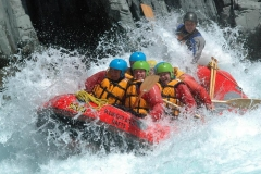 Rafting the might Rangitata