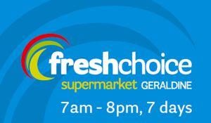 Fresh choice Geraldine